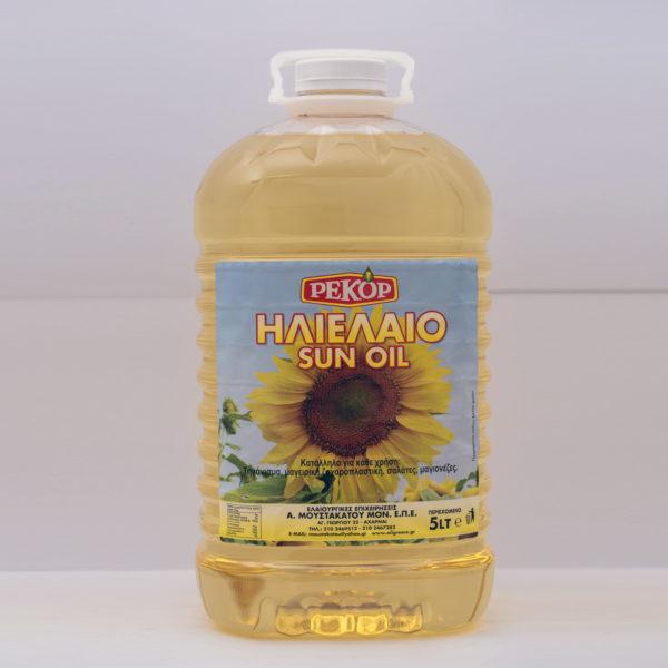 sunflower oil 5lt RECOR